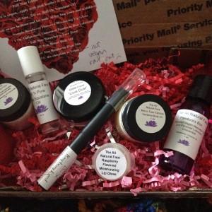 All Natural Face Beauty Box