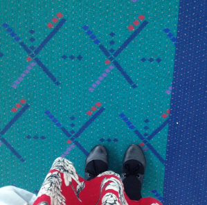 Portland PDX carpet feet